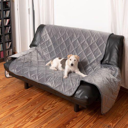 dwustronna narzuta na sofę - dł. x szer.: 170 x 298 cm (na sofę 3-osobową)  -5% rabat dla nowych klientów  dostawa gratis + promocje marki Smartpet