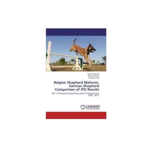Belgian Shepherd Malinois, German Shepherd Comparison of IPO Results