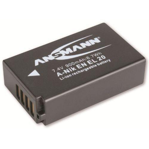 Akumulator  do nikon a-nik en el 20 (900 mah) marki Ansmann
