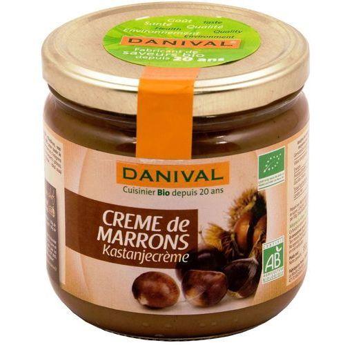 Krem z kasztanów jadalnych 380 g - marki Danival