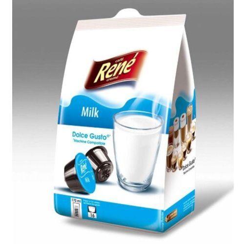 Rene pure milk (mleko w proszku) kapsułki do dolce gusto – 16 kapsułek marki Nespresso kapsułki
