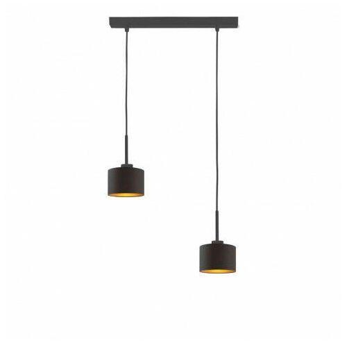 Lumes Nowoczesna lampa wisząca nad stół na czarnym stelażu - ex429-montani - 5 kolorów