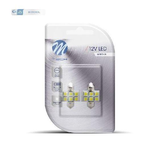 LB027W ZAROWKA LED 12V C5W 1.4W 31MM 6XSMD5050