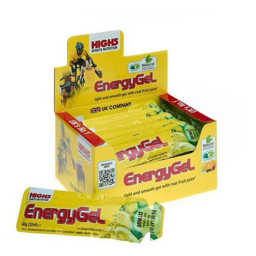 energygel żywność dla sportowców lemon 20 x 40g 2018 zestawy i multipaki marki High5
