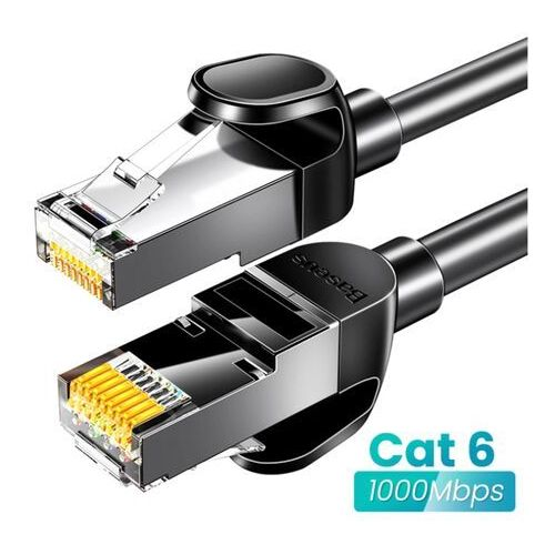 Baseus RJ45 Gigabit Network   Kabel sieciowy LAN Ethernet CAT6 RJ45 15m EOL (6953156218376)
