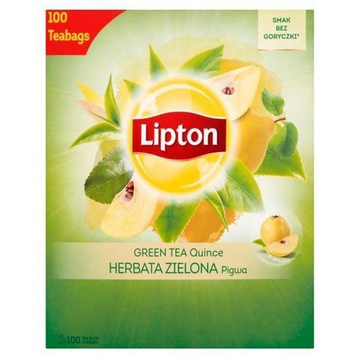 Lipton Herbata eksp. green tea op.100 - pigwa