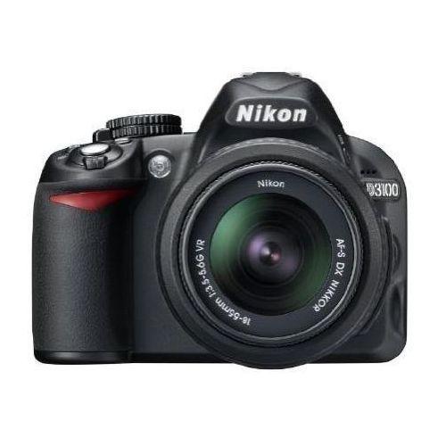 D3100 marki Nikon - lustrzanka cyfrowa