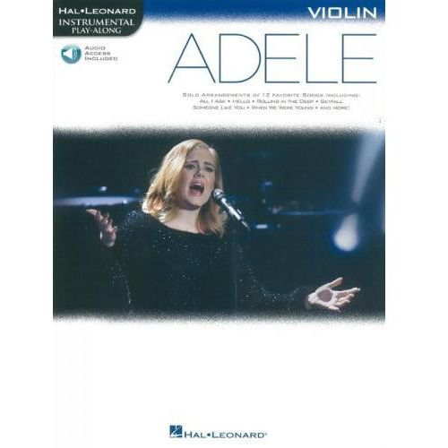 PWM Adele - Instrumental play-along na skrzypce (+ audio access)