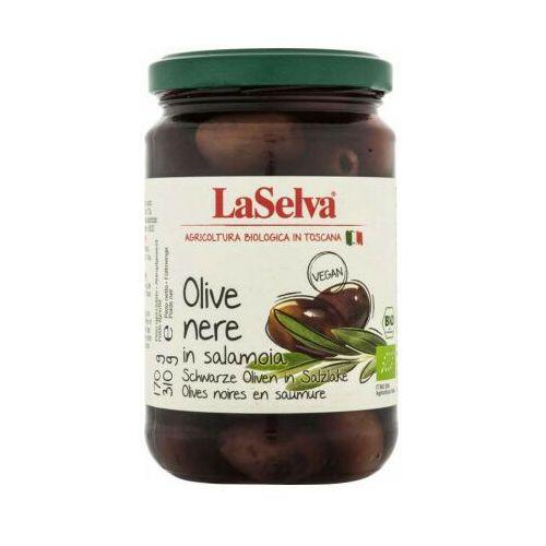 BIO czarne oliwki w zalewie 310g LaSelva 1 szt.
