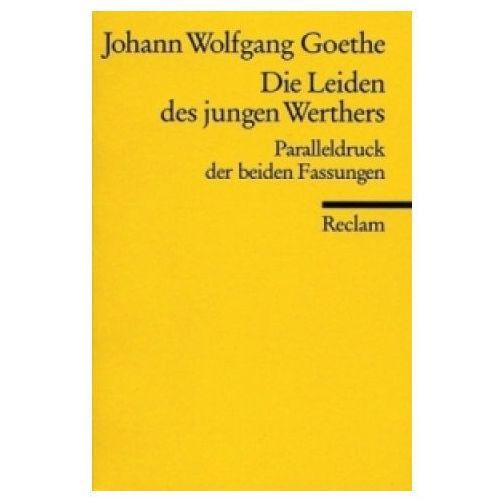 Die Leiden des jungen Werthers, Studienausgabe (9783150097625)