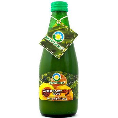 Sok brzoskwiniowy 300 ml marki Bio food
