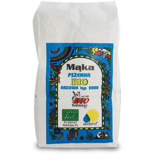 Bio babalscy Mąka razowa pszenna typ 2000 1 kg (5905198000564)