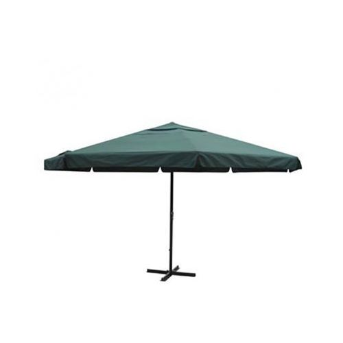 Parasol ogrodowy aluminiowy (500 cm) zielony - oferta [457addacff23667a]