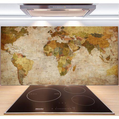 Wallmuralia.pl Panel do kuchni mapa polityczna