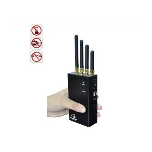 Przenośny profesjonalny multi-zagłuszacz lokalizatorów gps+gsm+3g/4g+wifi... marki C.f.l.