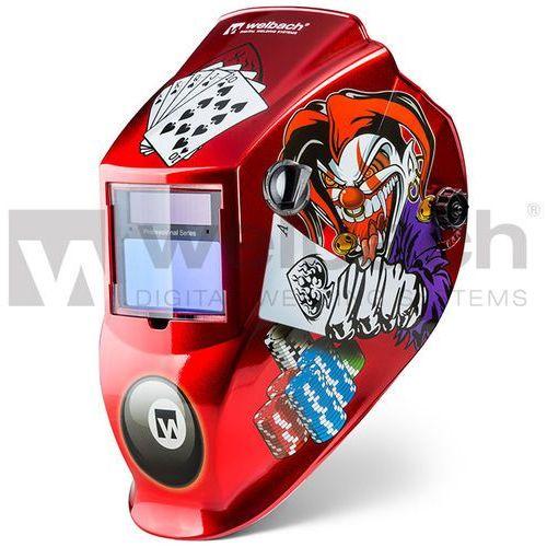 Automatyczna maska spawalnicza pokerface od producenta Stamos germany