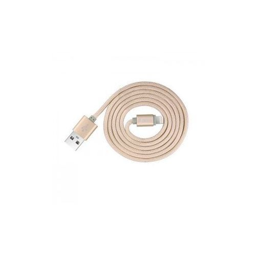 Kabel  certyfikowany mfi 1,2m do iphone lightning champagne gold, marki Devia