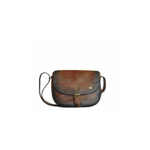 3f46abe75440f ... 17 koniak - skórzana torba listonoszka 399,00 zł OPIS: materiał  zewnętrzny: skóra