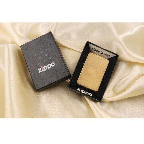 Zapalniczka brushed brass marki Zippo