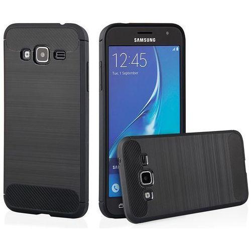 Etui QULT Back Case Armor do Samsung Galaxy J3 2016 Czarny