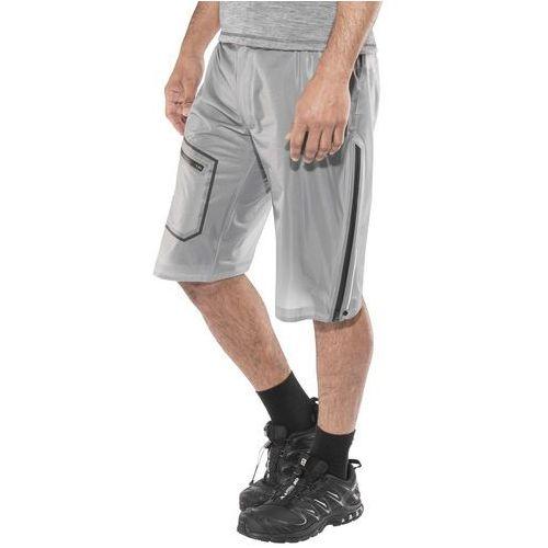 Haglöfs L.I.M Bield Spodnie krótkie Mężczyźni szary/biały M 2018 Szorty syntetyczne (7318841094434)
