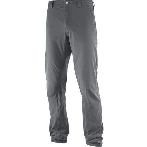 Salomon wayfarer incline spodnie długie mężczyźni szary 56 2017 spodnie turystyczne