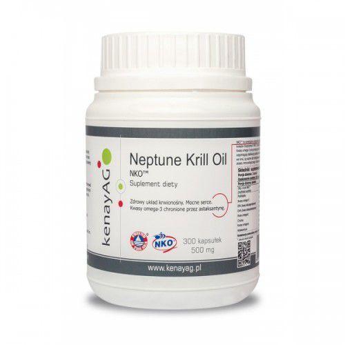 Neptune technologies & bioressources inc. Olej z kryla nko (300 kapsułek) -opakowanie rodzinne! (5900672150179)