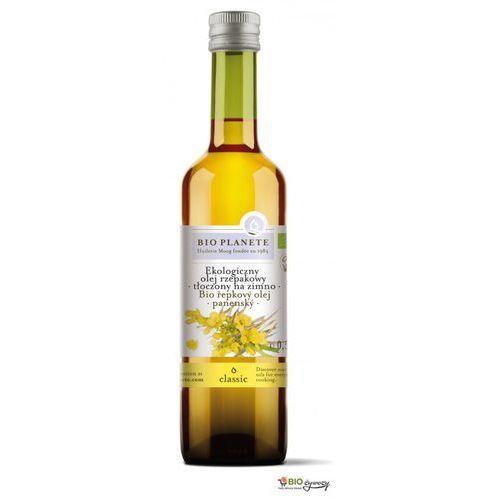 Bio planete Olej rzepakowy bio tłoczony na zimno 500ml z kategorii Oleje, oliwy i octy