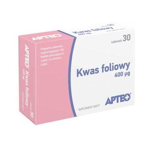 APTEO Kwas foliowy 400 µg x 30 tabletek