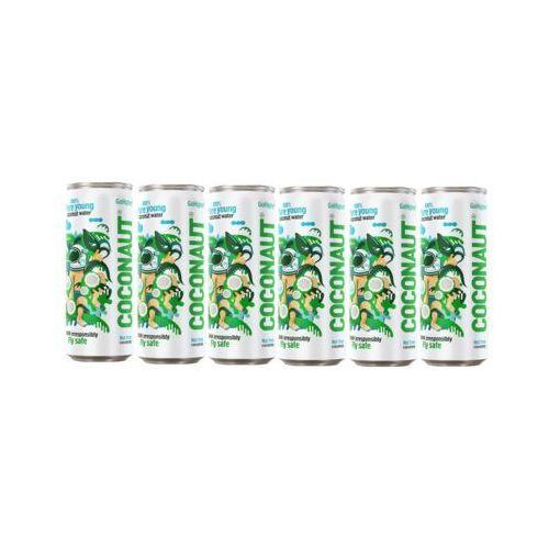 Zestaw 6x COCONAUT 320ml Go Higher Woda z młodego kokosa Naturalna