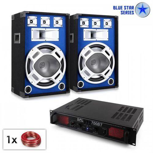 """Electronic-star blue star series """"basscore bluetooth"""" zestaw nagłośnieniowy 1000 w"""