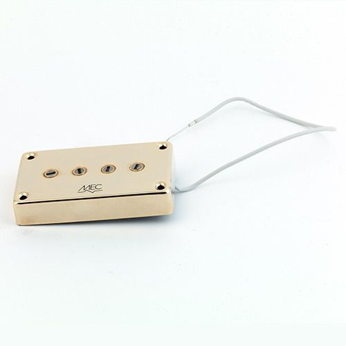 Mec star bass ii 4 string pu, passive, neck, złoty przetwornik gitarowy