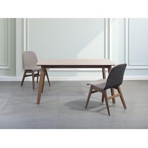 Stół do jadalni, kuchni, salonu brąz - 150x90 cm - MADOX