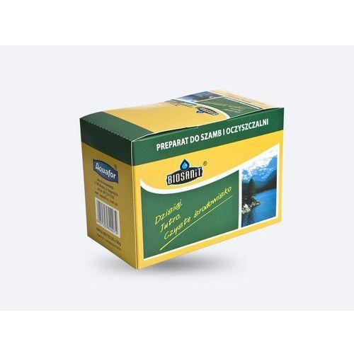 Preparat do szamb i oczyszczalni biosanit 20 saszetek, 600g marki Aquafor