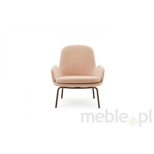 Fotel Era Orzechowy z Niskim Oparciem gabriel-fame Normann Copenhagen 602849
