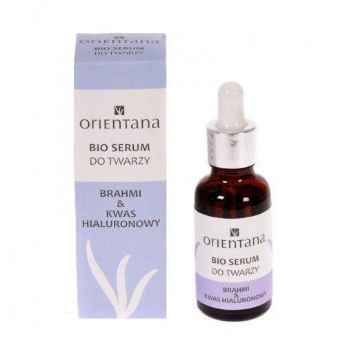 Orientana Bio serum do twarzy brahmi & kwas hialuronowy 30 ml