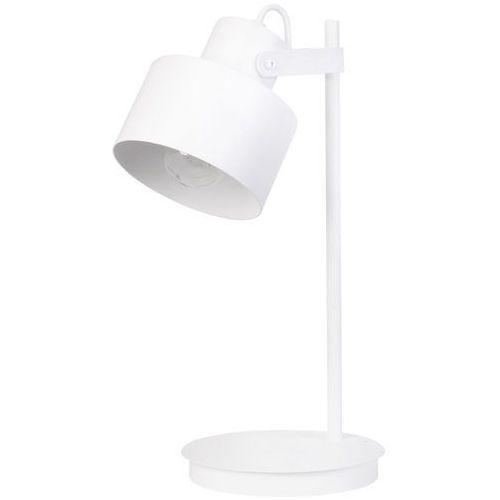 Stojąca lampa stołowa metro 50124 biurkowa lampka metalowy reflektorek biały marki Sigma
