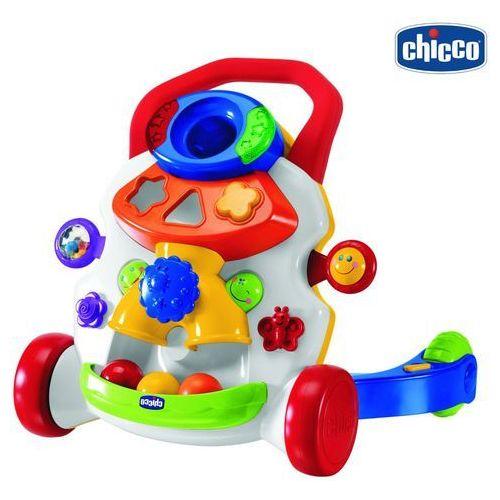 PCHACZ Wielofunkcyjna zabawka chodzik Biały, marki Chicco do zakupu w puppo.pl