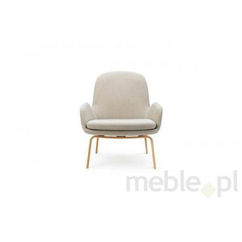 Fotel Era Dębowy z Niskim Oparciem gabriel-breeze fusion Normann Copenhagen 602847 - sprawdź w Meble.pl