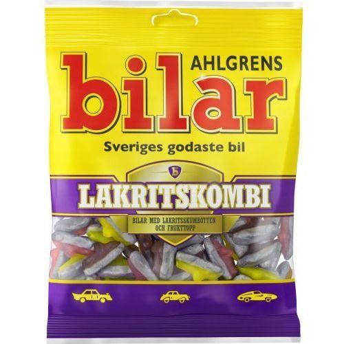 Ahlgrens bilar - lakritskombi - pianki w ksztalcie samochodów z lukrecją - 130g - ze szwecji (7310350128143)