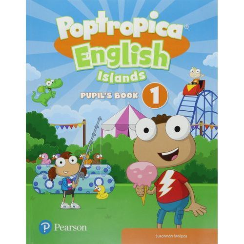 Poptropica English Islands 1. Pupils Book + Online World Access Code - książka