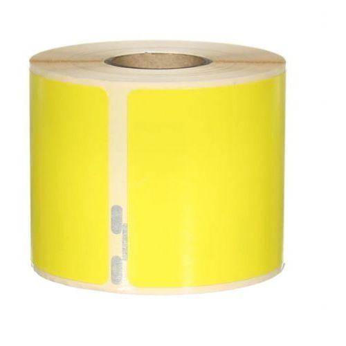 Etykiety samoprzylepne dymo 99014 żółte - 54x101mm, 220 szt. marki Label co.