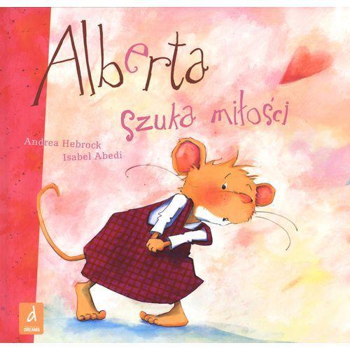 ALBERTA SZUKA MIŁOŚCI, książka w oprawie twardej