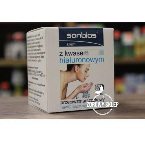 Sanbios krem z kwasem hialuronowym przeciwzmarszczkowy dzień noc 50ml