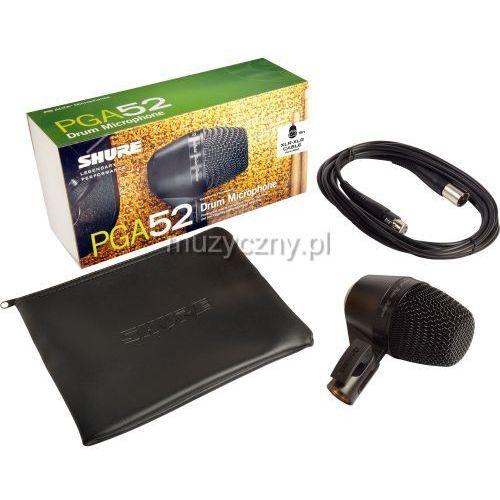 pga52 xlr mikrofon dynamiczny marki Shure