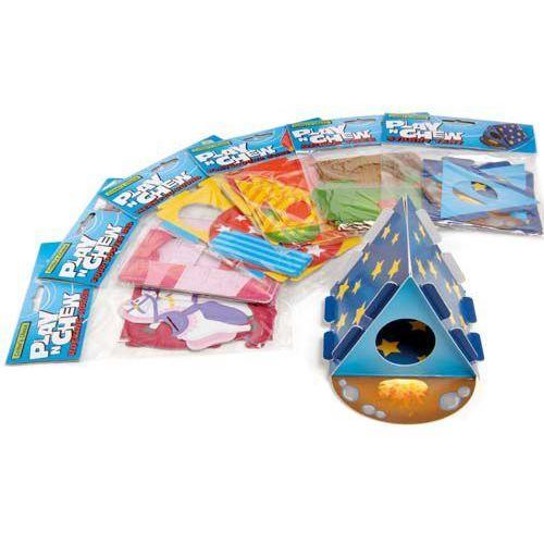 Tekturowe zabawki - domki dla gryzoni