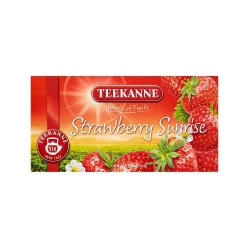 TEEKANNE 20x2,5g World of Fruits Strawberry Sunrise Herbata owocowa