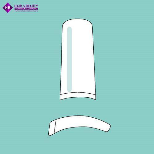 PEGGY SAGE - 50 tipsy z zaostrzonym końcem - frosted clear - ( ref. 142710) (3529311427100)