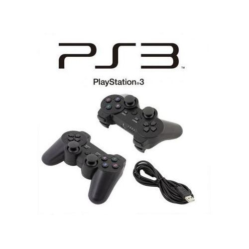 S.t.i. ltd. Przewodowy pad/kontroler dual shock do playstation 3/ps3.