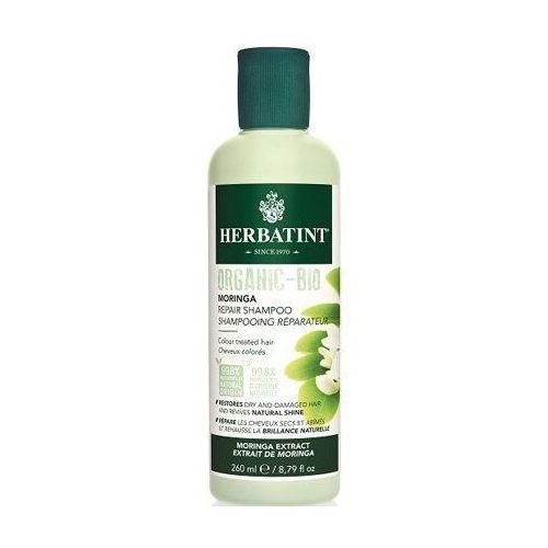 HERBATINT Organic-Bio szampon naprawczy do włosów Moringa 260ml